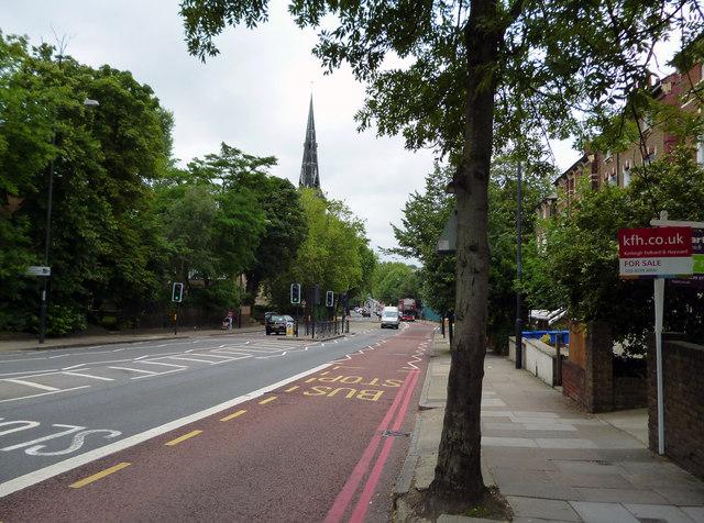 Dulwich:  Lordship Lane