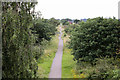 SK8571 : Looking west from Moor Lane bridge.  by Alan Murray-Rust
