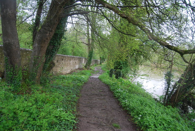 Monarch's Way by the River Arun