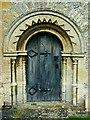 SU3193 : Chancel door, Church of St Faith, Church Street, Shellingford : Week 29