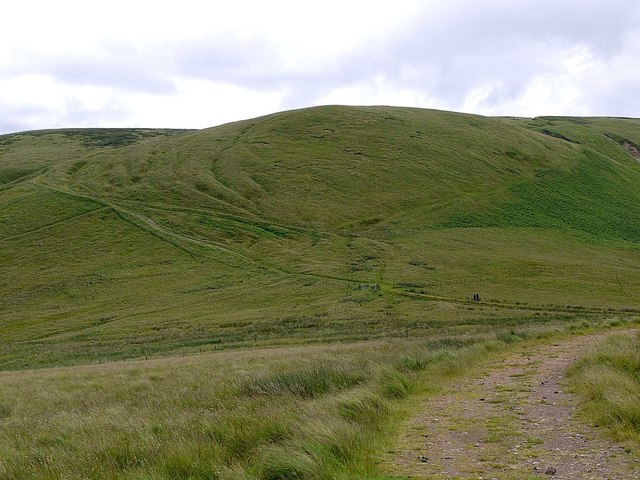 Clennell Street below Outer Cock Law