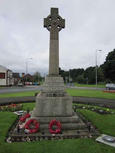 The War Memorial at Aubourn