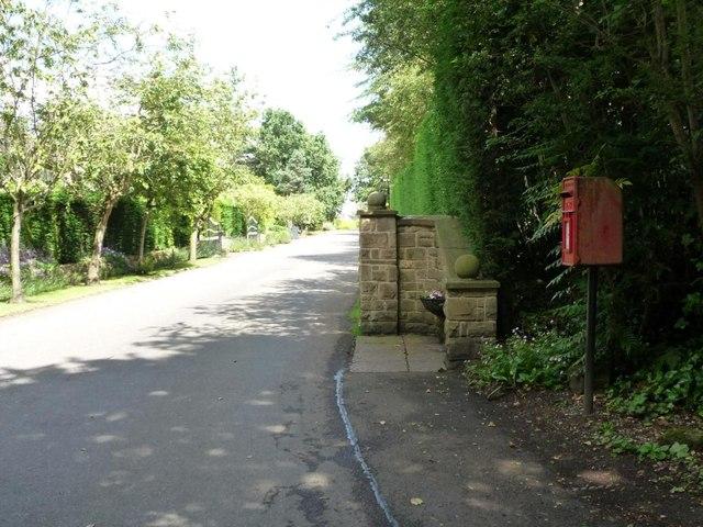 Bracken Park EIIR postbox