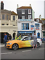 TQ8209 : Official Olympic BMW, Day 60 Olympic Torch Relay by Oast House Archive