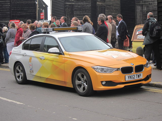 Olympic BMW, Day 61 Olympic Torch Relay