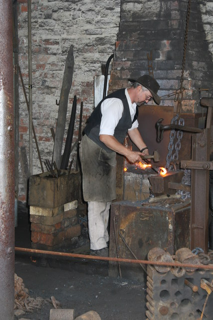 Black Country Living Museum - chain making