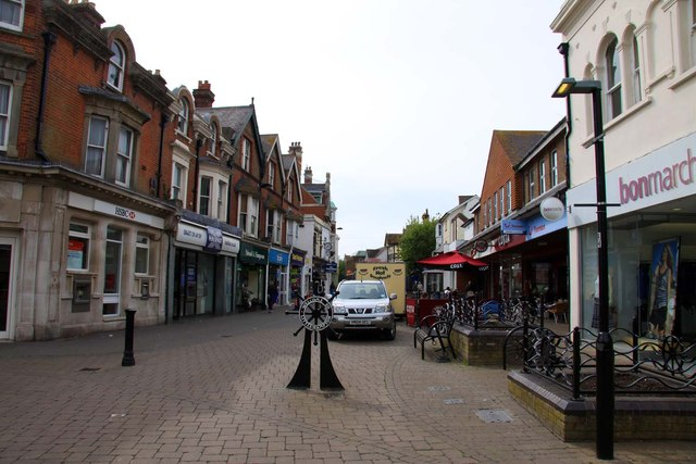 High Street in Littlehampton