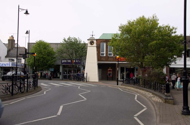 Surrey Street in Littlehampton