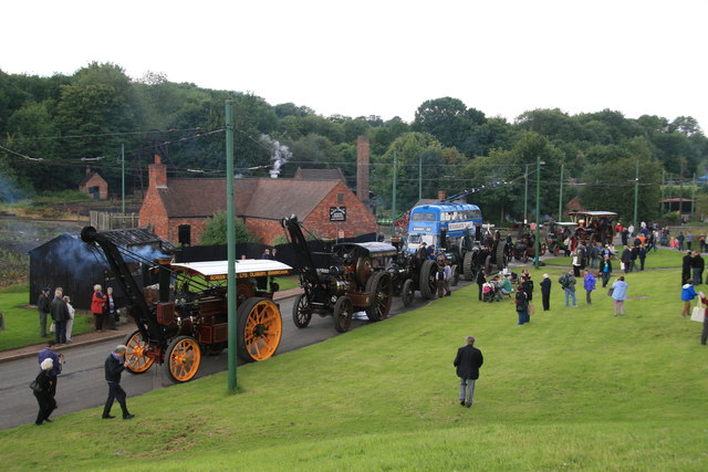 Black Country Living Museum - grand parade of steam
