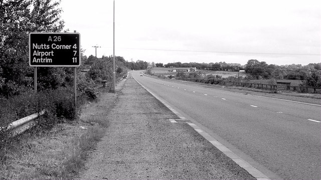 The Glenavy bypass (1980)