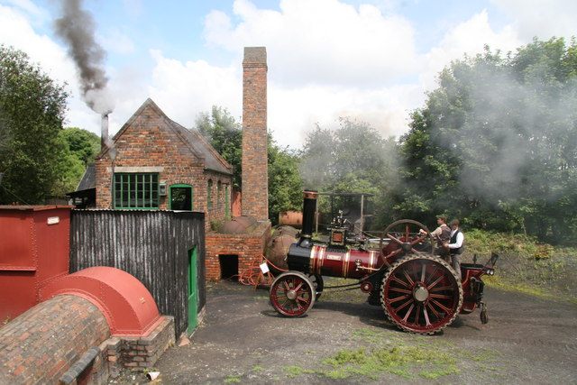 Black Country Living Museum - a water stop at Racecourse Colliery