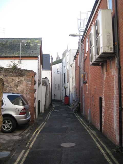 East along Clampet Lane