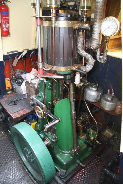 Black Country Living Museum - steam narrowboat President