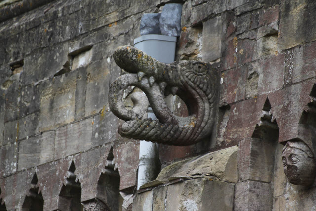 Dragon at Thorney Church