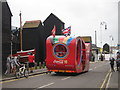 TQ8209 : Coca Cola promotional lorry, Day 61 Olympic torch relay, Hastings by Oast House Archive