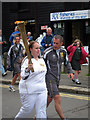 TQ8209 : Torch Bearer, Day 61 Olympic torch relay, Hastings by Oast House Archive