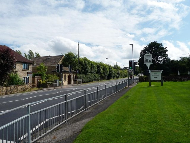 Pedestrian crossing, Scarcroft