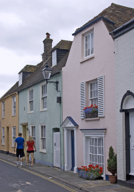 Houses on Middle Street, Deal
