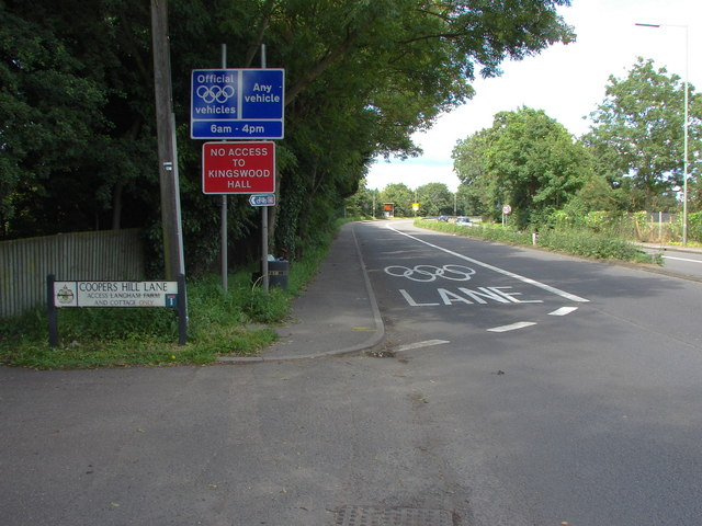 Olympic Lane, Egham Bypass