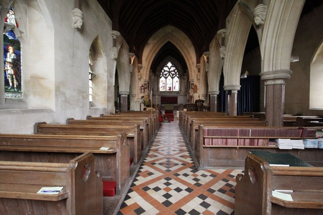 A view of the nave