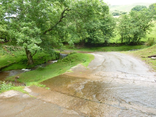Two Fords above slabs Black Mountains