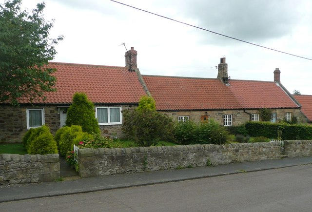 Cottages in Newton on the Moor