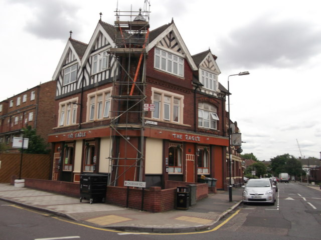 The Eagle Public house, Leyton