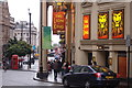 TQ3080 : Lyceum theatre on a rainy July evening by Roger Davies