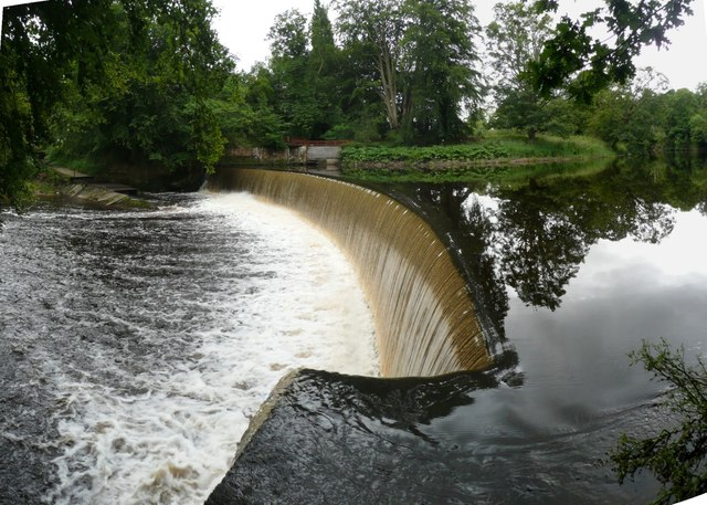 Dam on the River Coquet