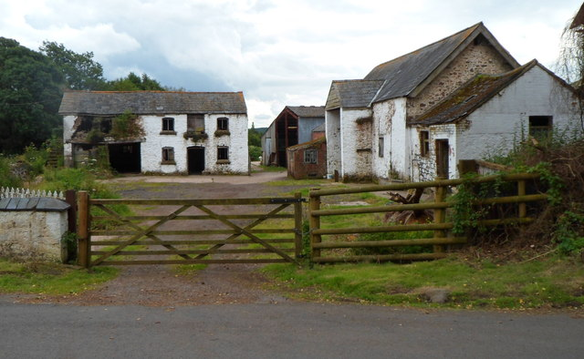 Farm buildings, Brook Farm north of Mamhilad