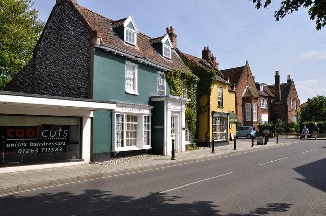 White Lion Street - Holt