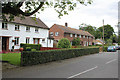 SK8572 : Former council houses, Thorney  by Alan Murray-Rust