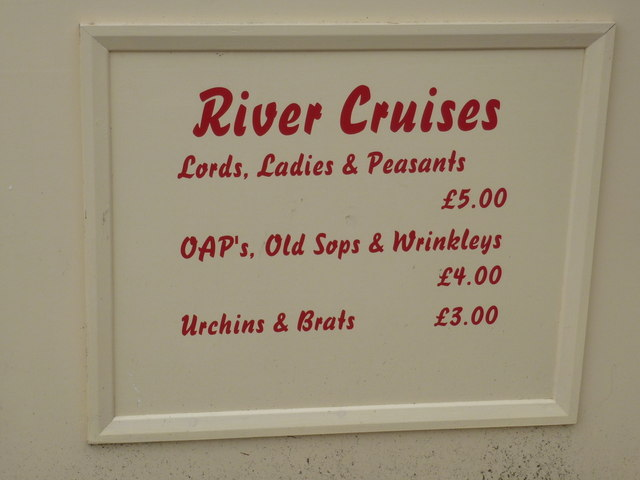 Wareham: river cruise prices
