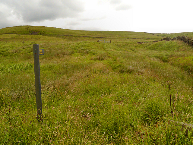 Ill-defined Footpath