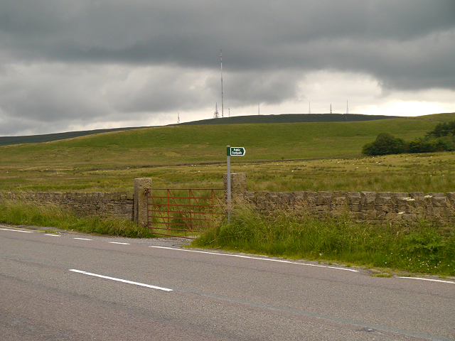 Bromiley Heys and Winter Hill
