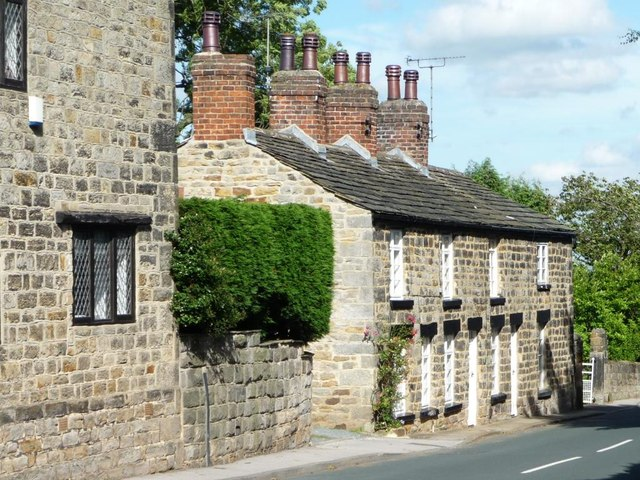 Terrace of cottages, Main Street, Shadwell