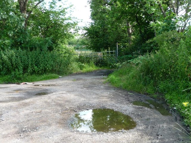 Lay-by and turning area, Whinmoor Lane
