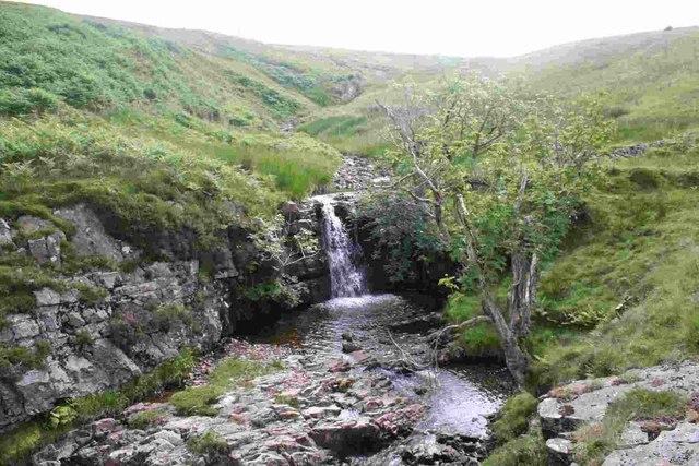 Waterfall on Aygill