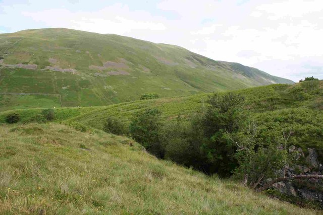 View over Aygill and Barbondale