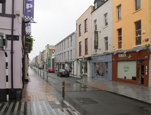 East end of Oliver Plunkett Street
