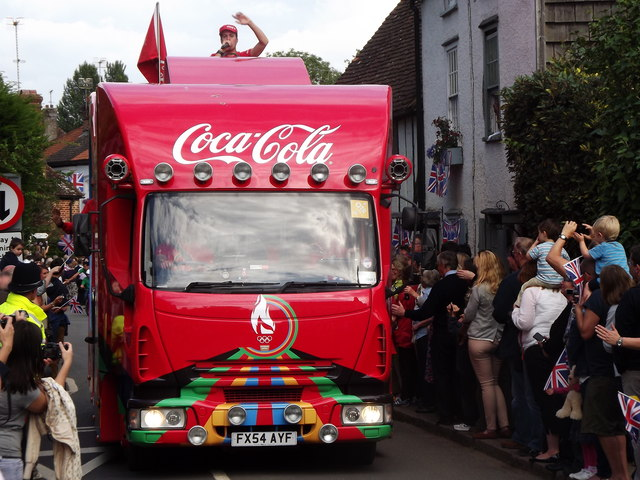 Coca Cola Lorry