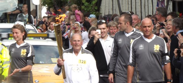 Olympic Torch Relay, Shere
