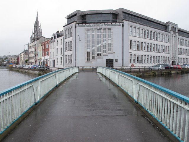 Trinity Bridge, Cork, and College of Commerce