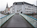 W6771 : Trinity Bridge, Cork, and College of Commerce by David Hawgood