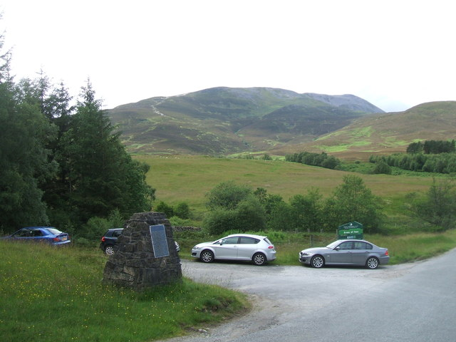 Access to Schiehallion