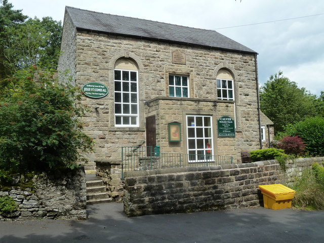 Methodist church, Calver