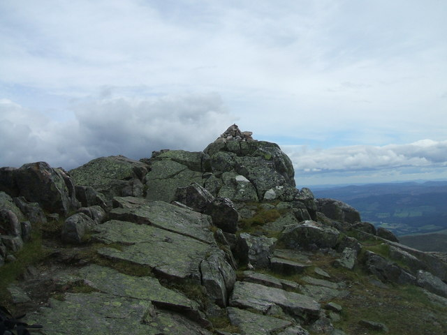 Summit of Schiehallion