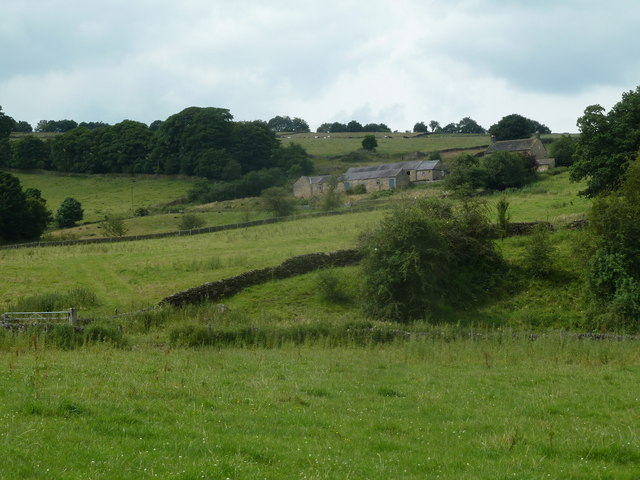 Bramley Farm on a hillside
