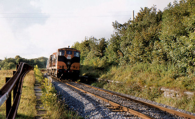 Former Kilfree Jct on the Sligo line