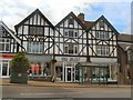 TQ5131 : Shops in Crowborough High Street by Paul Gillett